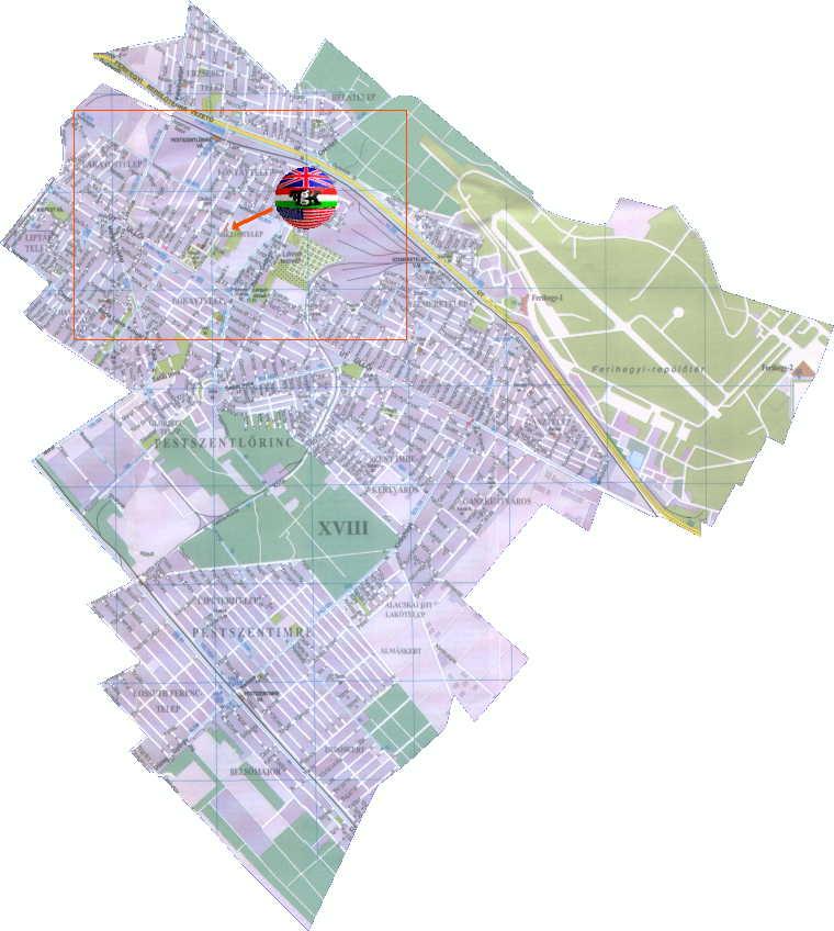 budapest térkép 18 ker KFG: Budapest XVIII. kerület budapest térkép 18 ker